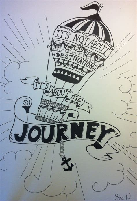 Its About the Journey Quote