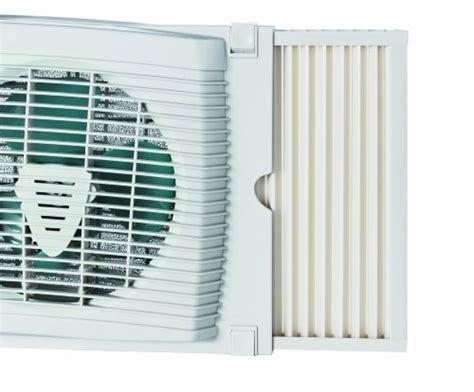 window fan with filter holmes energy saving fan forced heater with eco smart