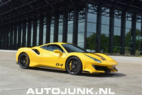 2019 ferrari 488 pista spider review price photos features specs. Ferrari 488 Pista Modena Yellow foto's » Autojunk.nl (243600)