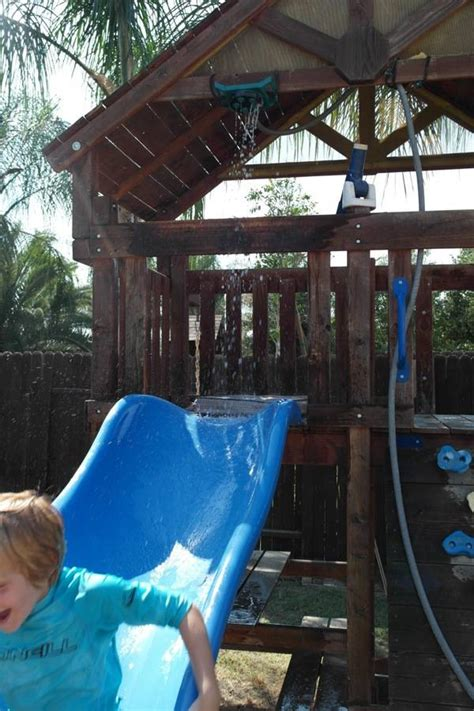 how to create the ultimate backyard water park on the - Backyard Water Park