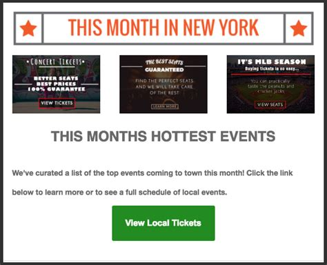 ticketnetwork template email marketing