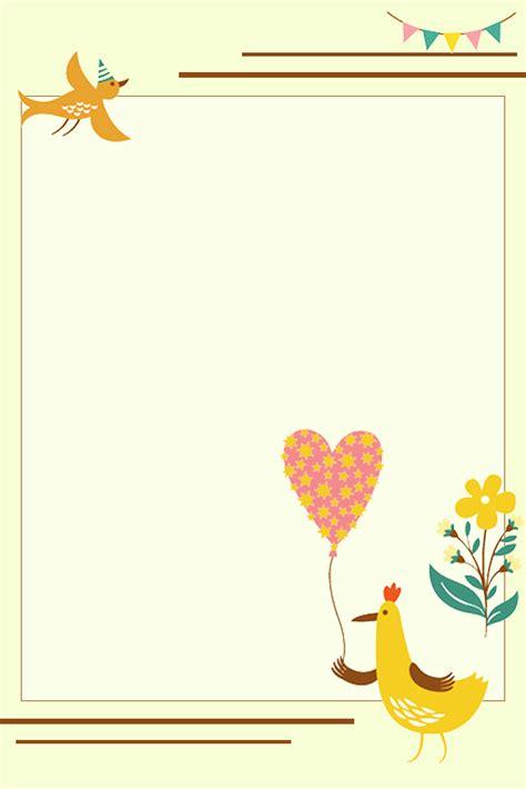 귀여운 동물 간략하다 화보 만화 배경, 귀엽다, 만화 동물, 간략하다 포스터 무료 다운로드를위한 배경 이미지