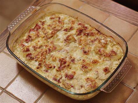 gratin dauphinois au jambon cru recette de gratin dauphinois au jambon cru marmiton
