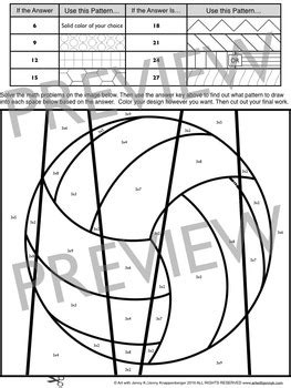 sports math times table coloring sheets  art  jenny