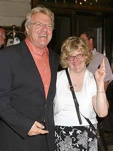 Micki Velton and Jerry Springer