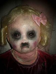 Creepy Baby Doll for haunted nursery | Halloween ...