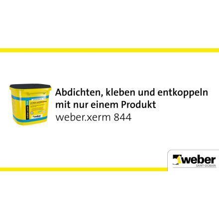 Fliesenkleber Und Abdichtung In Einem by Weber Xerm 844 Ist Ein Hochflexibler Fliesenkleber Und