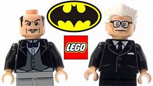 LEGO Alfred Pennyworth Batman Minifigure Collection - YouTube