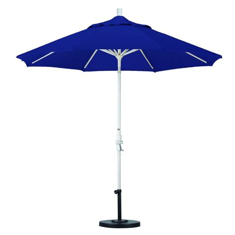 california umbrella 9 ft aluminum collar tilt patio