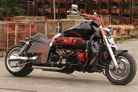 V12 Bike Motorrad Mit V12 Aston Martin Db9 Kms Md35