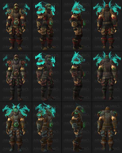 siege d orgrimmar sets d 39 armures du patch 5 4 of warcraft