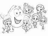 Bubble Guppies Coloring Pages Printable Getdrawings Drawing Clipart Puppy Splatoon Getcolorings Gangsta Inspiration Everfreecoloring Colorings Birijus sketch template