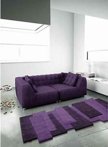 dossier couleurs partie 2 blog unamourdetapiscom With tapis shaggy avec coussin canapé 80x40