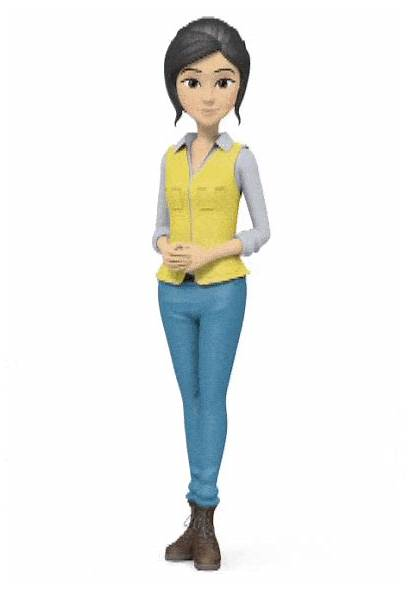 Animated Assistant Virtual Talking Character Create Bot