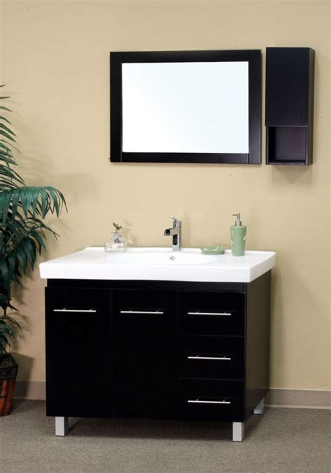 single sink bathroom vanity  black uvbh
