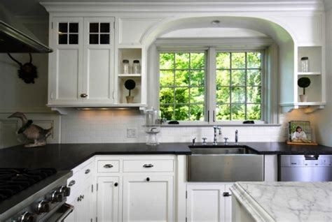 Idea For Kitchen Countertop Using Two Different Types Of
