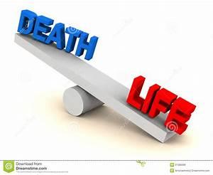 Life Death Balance Royalty Free Stock Images - Image: 31386699