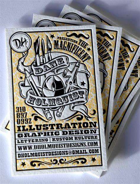 cool graphic design business cards 25 beautiful cool letterpress business card design for
