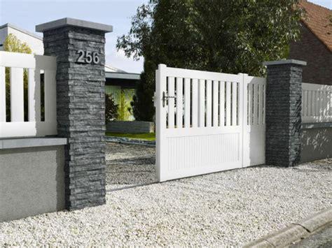 decoration pour pilier exterieur dix solutions pour embellir portail et sa cl 244 ture maisonapart