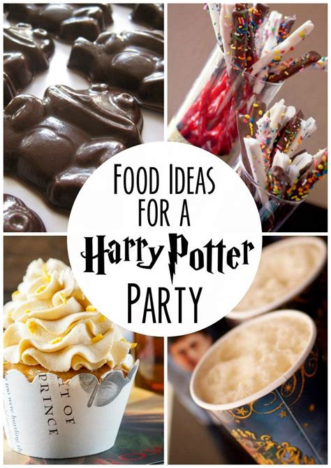 food ideas   harry potter party bhg athome blogger