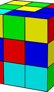Rubik Cube Clip Art at Clker.com - vector clip art online ...