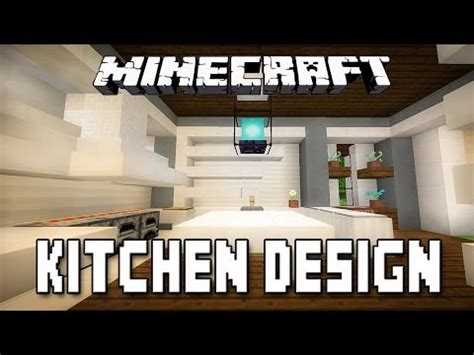 kitchen ideas minecraft minecraft tutorial modern kitchen design how to build a