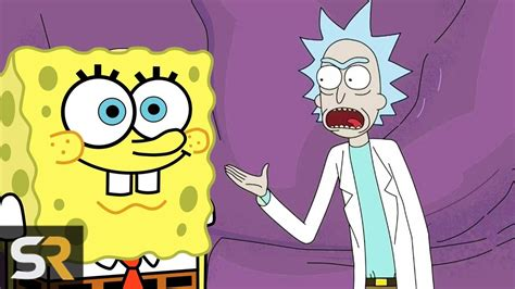 10 Spongebob References You Missed In Other Animated