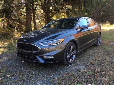 ford fusion sport redline review youtube