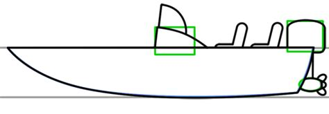 How To Draw A Ski Boat by Boat Step By Step Drawing Lesson