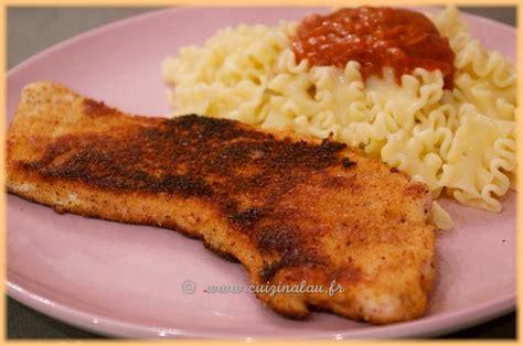 cuisiner sans graisse recettes cuizinalau la panure escalope de dinde à la
