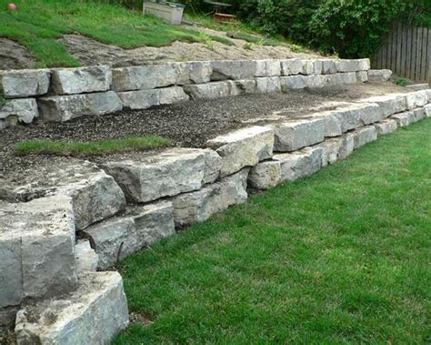 rock retaining wall cost 35 retaining wall blocks design ideas how to choose the right ones