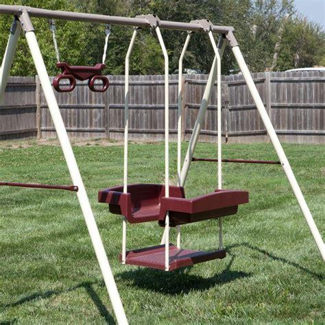 Kid Swing Set by Swing Swing Set Outdoor Children Backyard