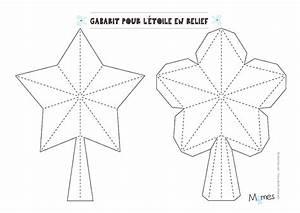 Gabarit Sapin De Noel A Decouper : etoile pour le sapin fabriquer ~ Melissatoandfro.com Idées de Décoration