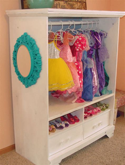 Dress Up Cupboard by Dress Up Cabinet From An Entertainment Center
