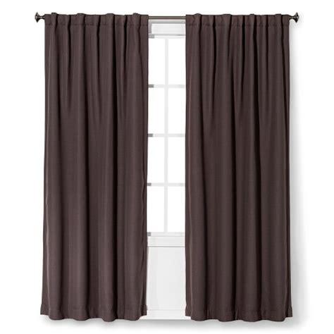 threshold light blocking basketweave curtain panel target
