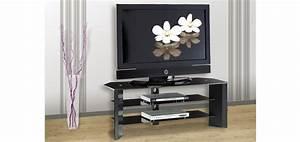 Trendy Acheter Meuble Tv Noir Verre Moderne With Meuble Tv