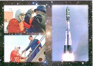 Yuri Gagarin And Vostok 1 Photo Album