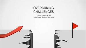Overcoming Challenges PowerPoint Template - SlideModel
