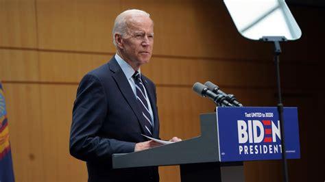 biden policy foreign trump speech politics joe standing york joseph former