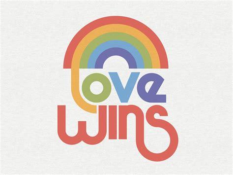 Love Wins by Pavlov Visuals on Dribbble