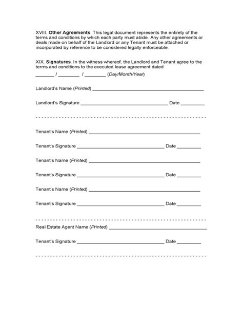 mississippi month  month lease agreement