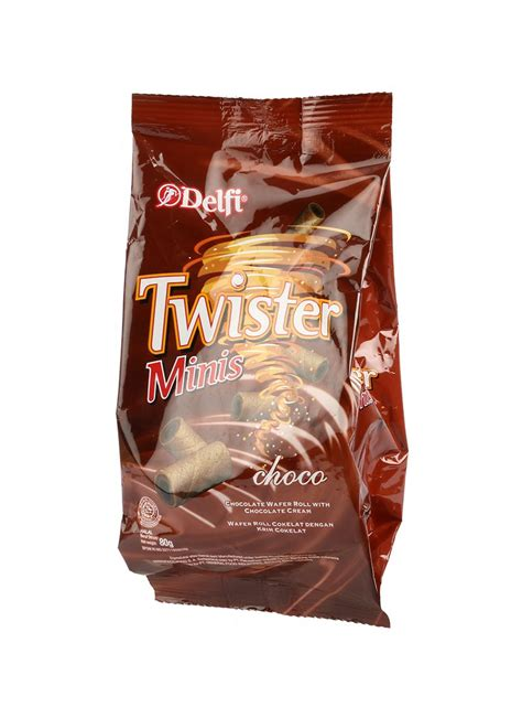 delfi wafer stick twister minis choco cream pck