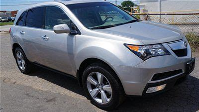 find used 2011 acura mdx awd advance pkg full warranty