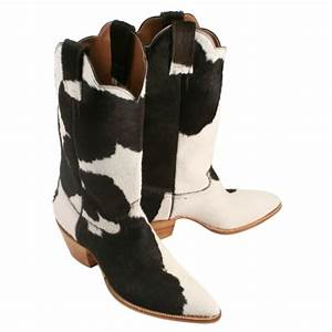 Holstein Hair-on Top  U0026 Bottom - Caboots