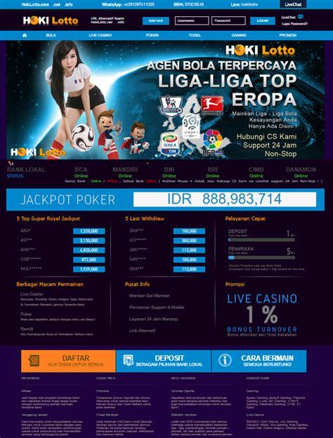 HokiLotto Alternatif Link Terpercaya 2018 - 2019 - Agen ...