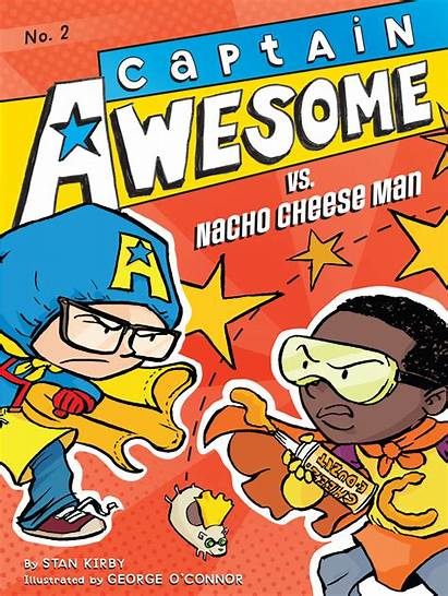Awesome Captain Cheese Nacho Books Kirby Stan