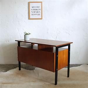 Bureau Type Scandinave : bureau vintage moderniste ancien atelier du petit parc ~ Teatrodelosmanantiales.com Idées de Décoration