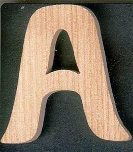 Lettre En Bois A Peindre : lettres en bois lettre a en bois a peindre et a coller ~ Dailycaller-alerts.com Idées de Décoration