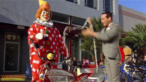 Pee-wee's Big Adventure Bicycle Clown Replica Movie Prop