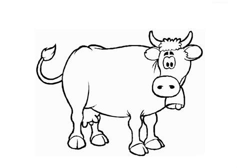 Buy Dibujos Para Pintar Dibujo De La Vaca Estudiosa Para
